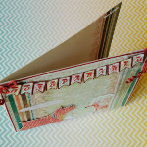 открытка в стиле скрапбукинг