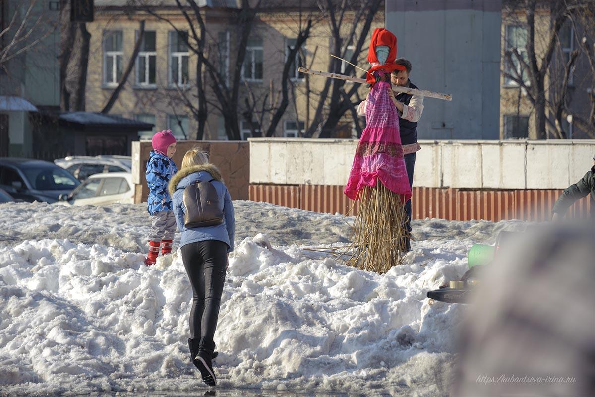 как сделать чучело на проводы зимы фото