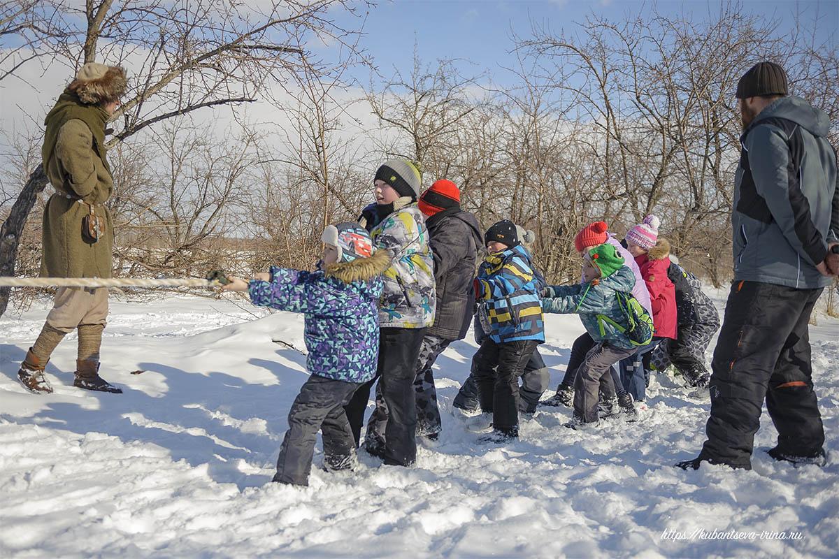 уличные игры для детей зимой фото
