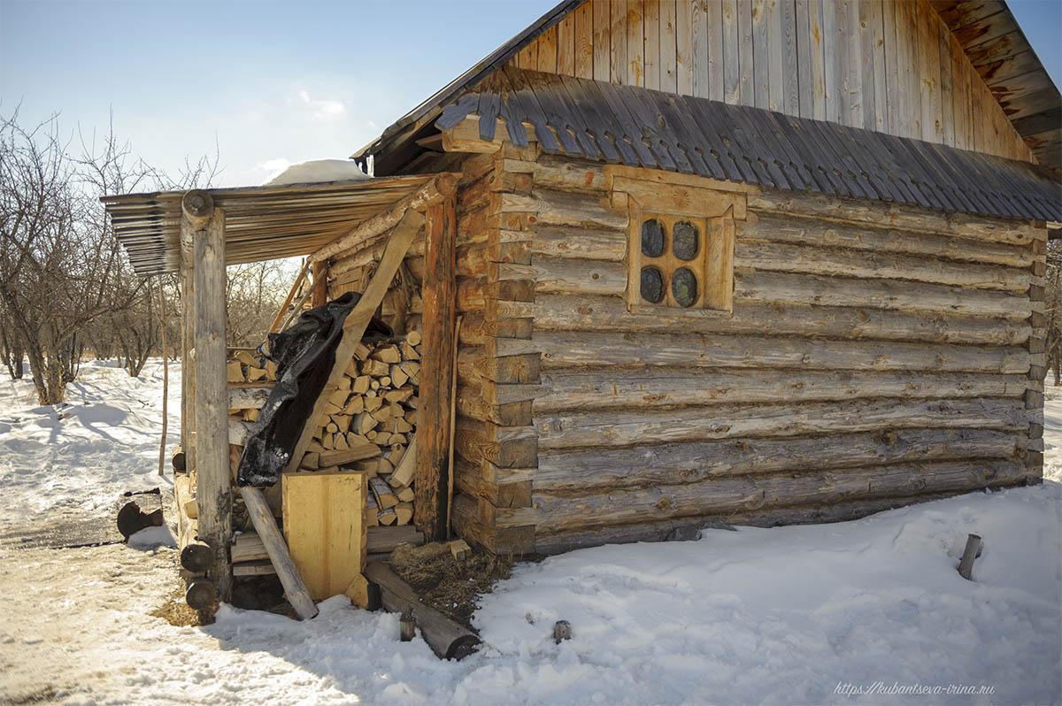 бревенчатый дом фото