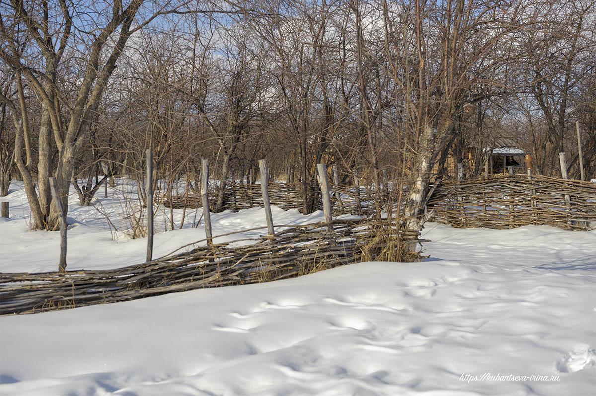 плетень забор фото