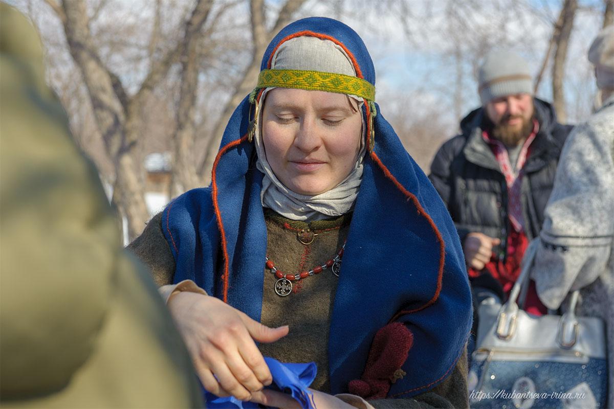 костюм древней славянки фото