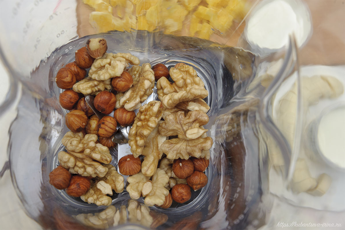 орехи молоть в блендере