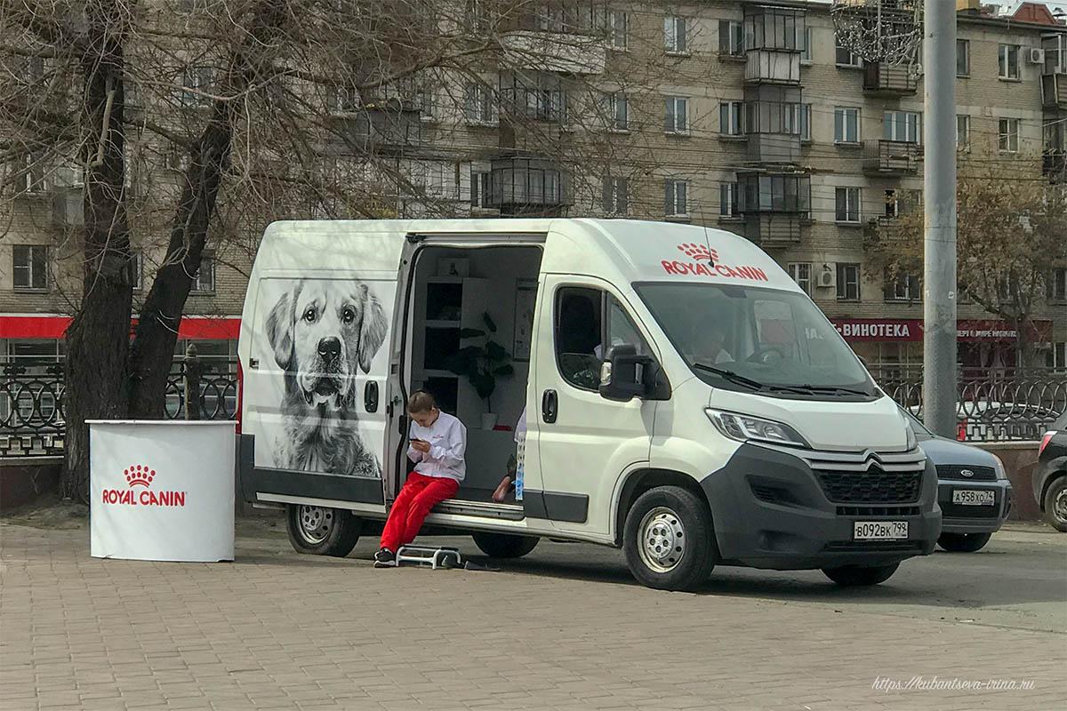 ветмобиль Royal Canin