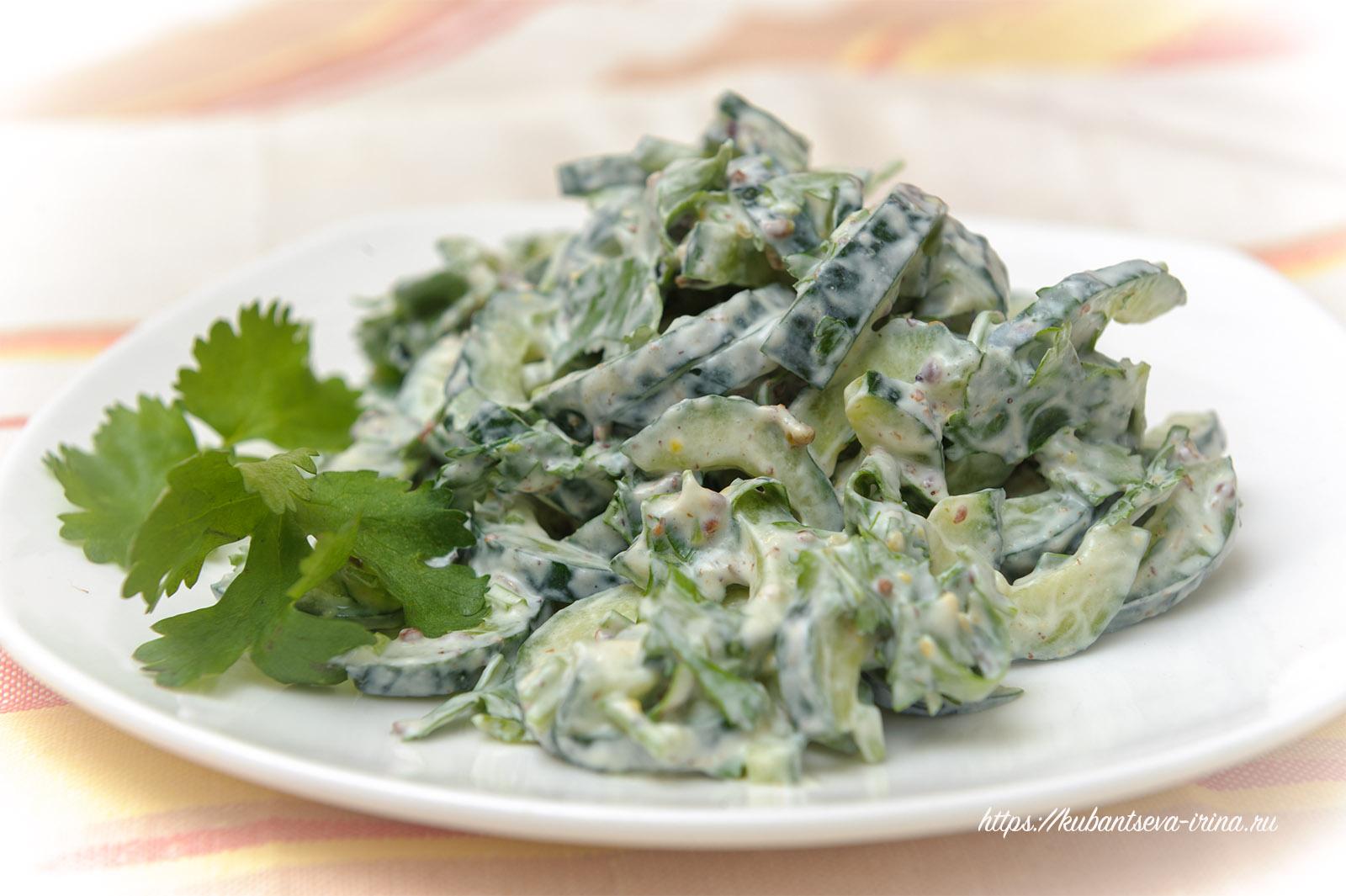 райта салат из огурцов с индийским оттенком
