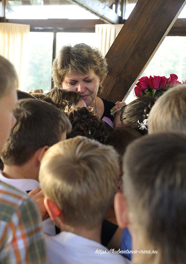 Искренняя благодарность учителю от детей