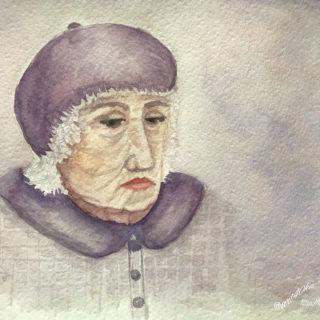 пожилая женщина права стариков