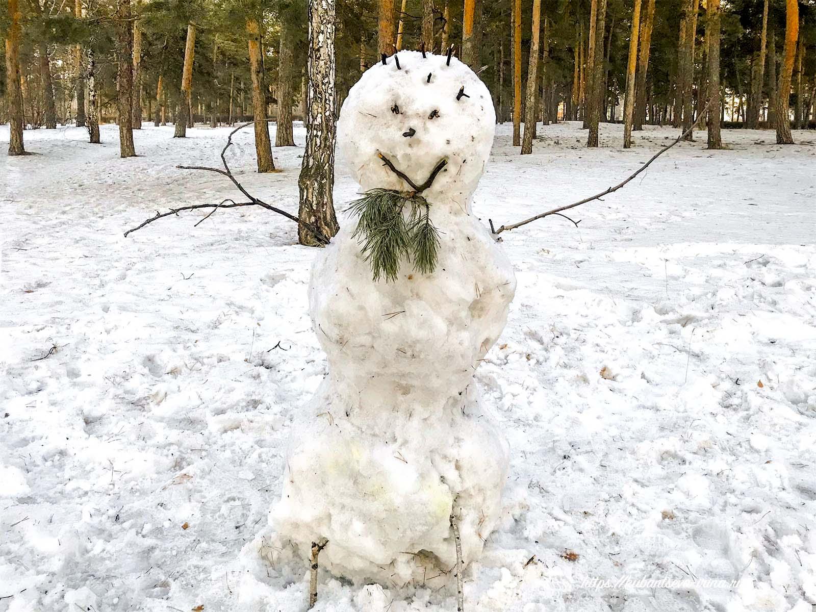 снеговики с бородой