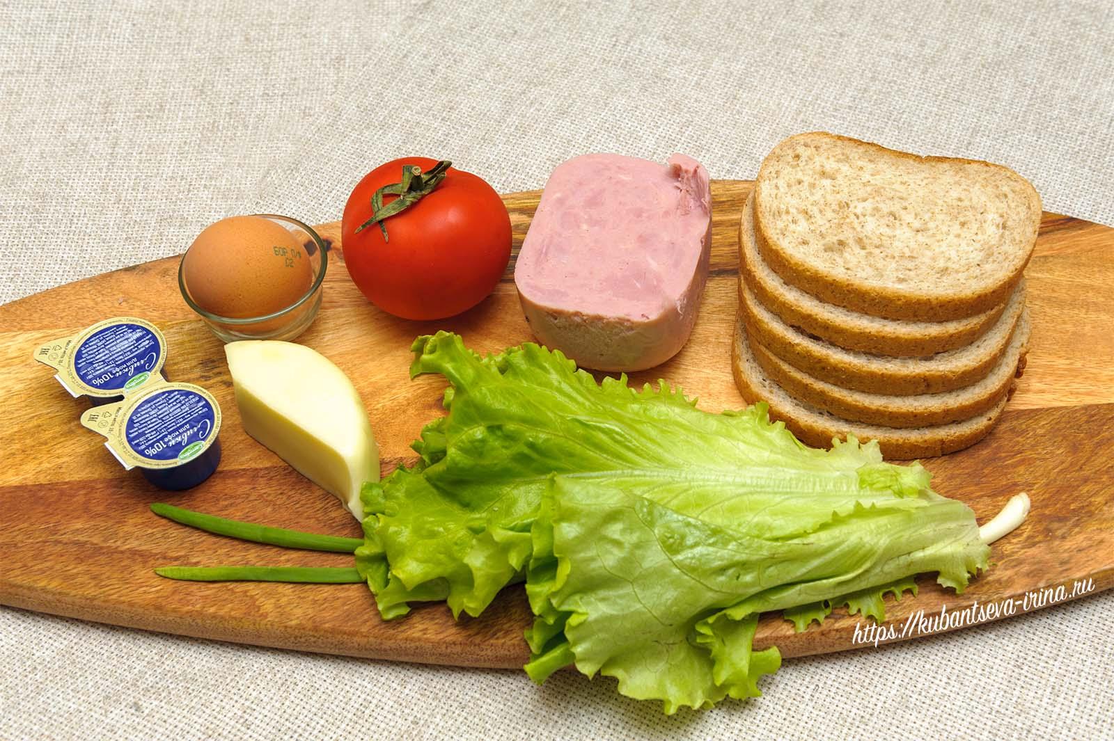 как сделать бутерброд фото