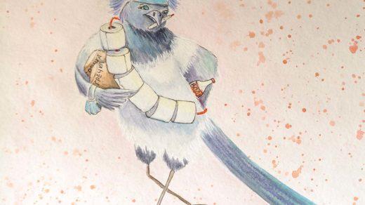 коронавирус и птица