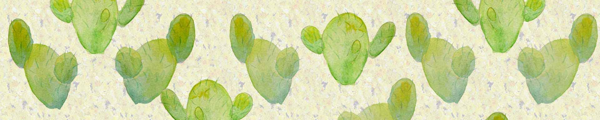 кактус акварелью картинки