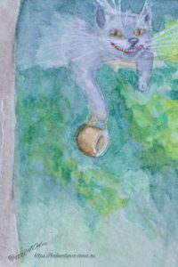 фанфик алиса в стране чудес чеширский кот