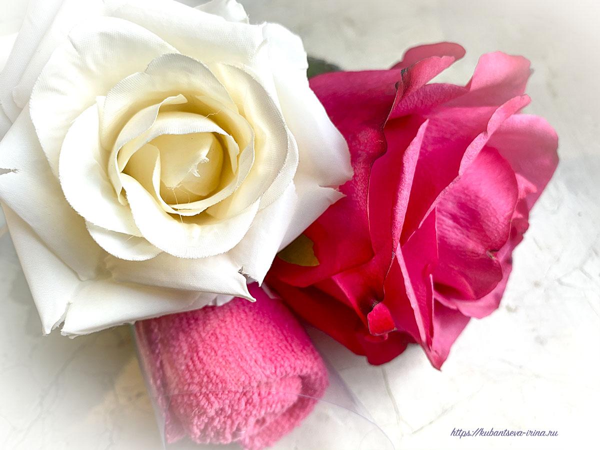 неожиданный подарок фото цветов