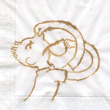 рисунки на салфетках
