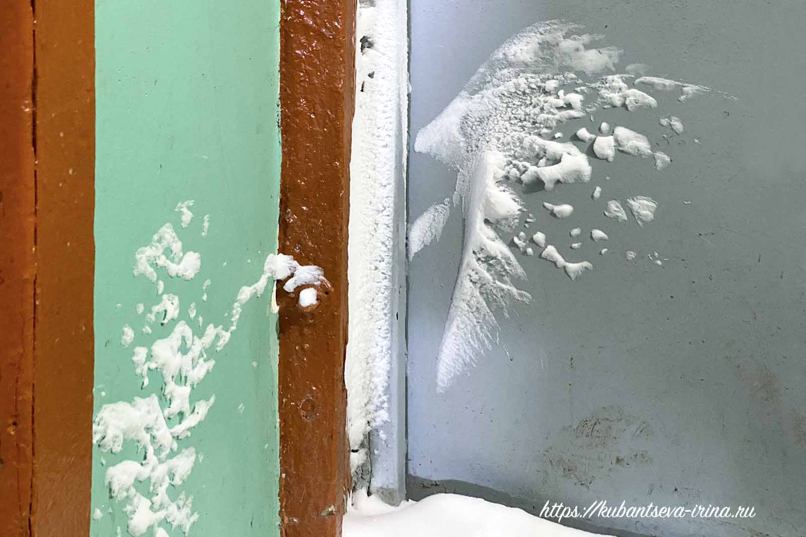 рисунки снегом
