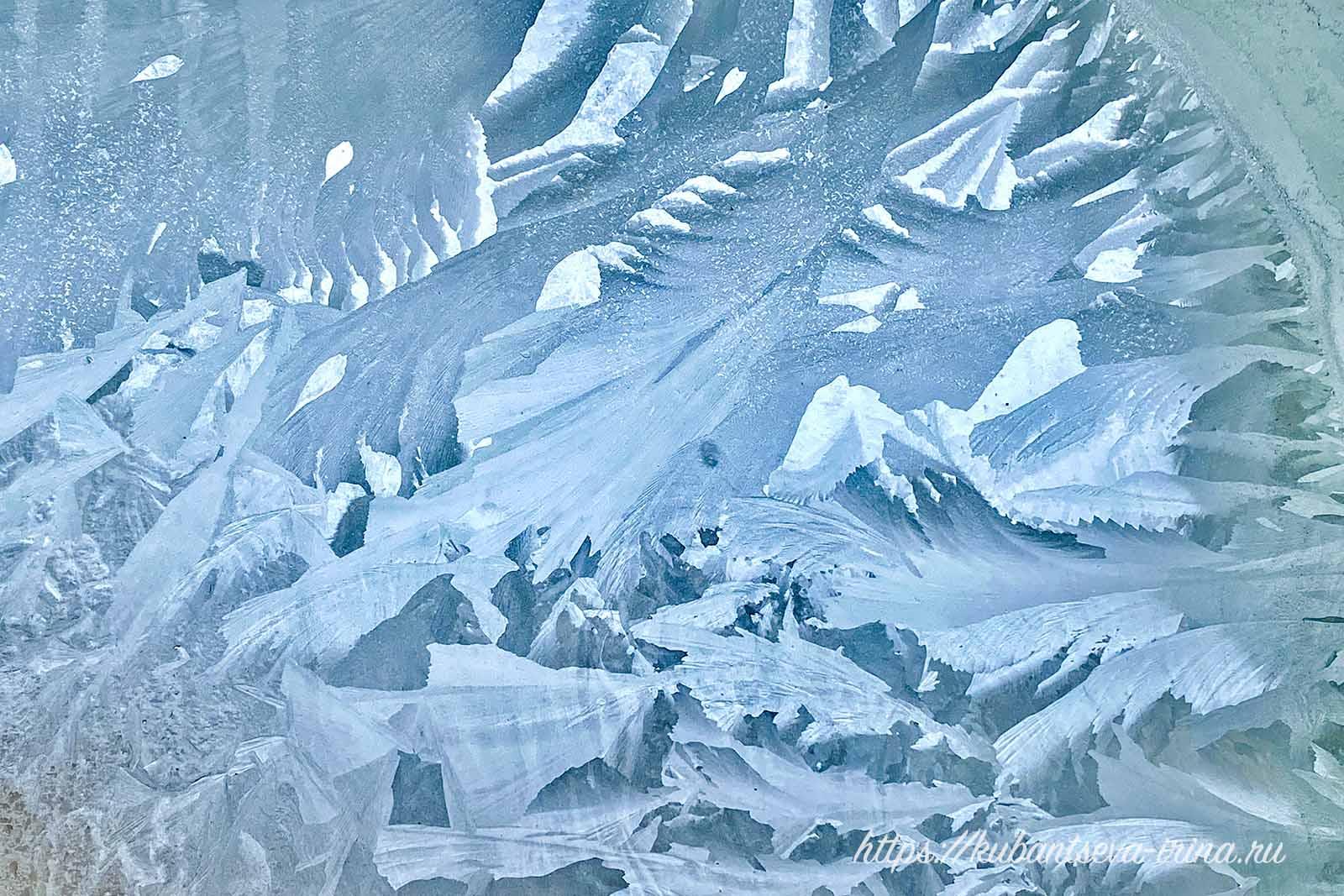 морозный день морозные узоры