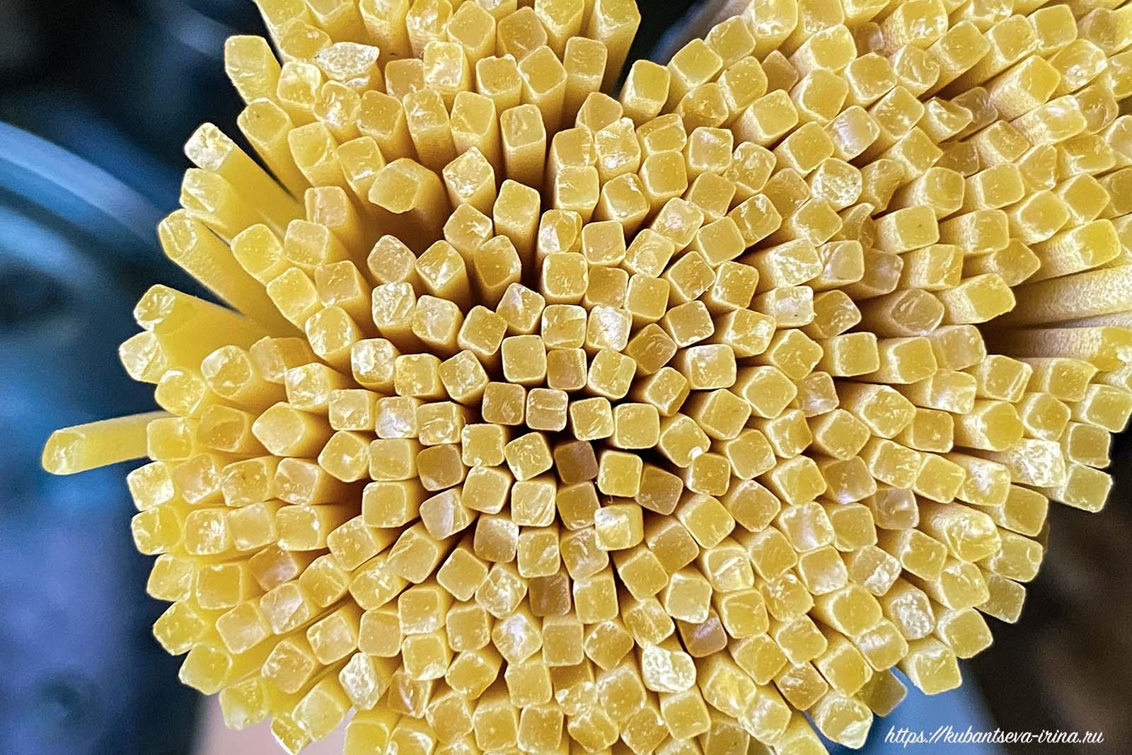 Квадратные  спагетти